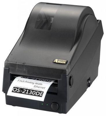 Принтер штрихкода (этикеток) Argox OS-2130D (термопечать, интерфейсы COM и USB (+ LAN), ширина печати 72 мм, скорость 102 мм/с)
